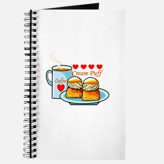 Coffee Cream Puff Journal