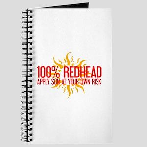 100% Redhead - Apply Sun Risk Journal