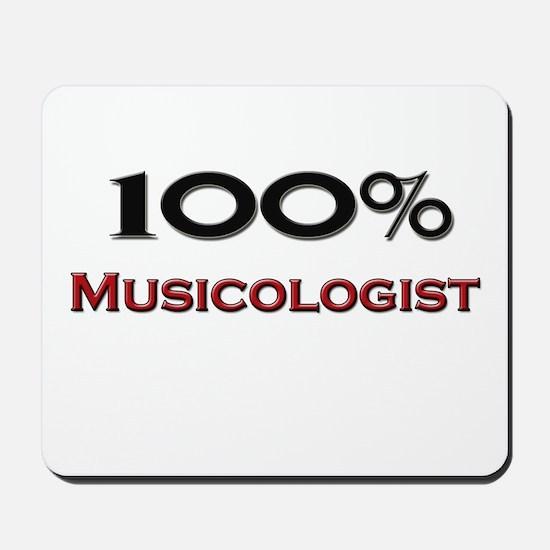 100 Percent Musicologist Mousepad