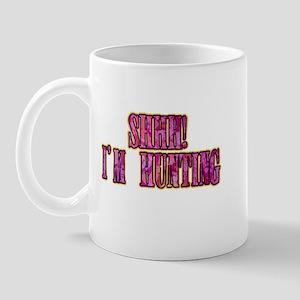 shhh i'm hunting t-shirts gifts Mug