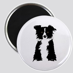 Border Collie Wanted Magnet