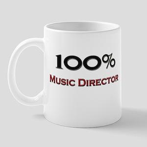 100 Percent Music Director Mug