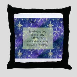 Sister Moon Throw Pillow