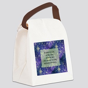 Sister Moon Canvas Lunch Bag