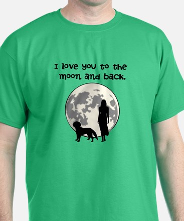 Cool Moon back T-Shirt