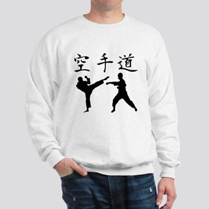 Karate Silhouette Sweatshirt