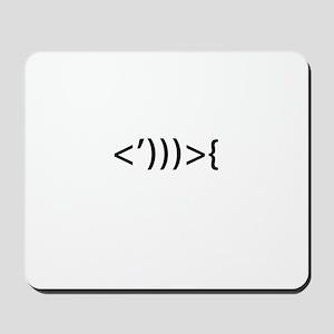 Code Fish - Mousepad