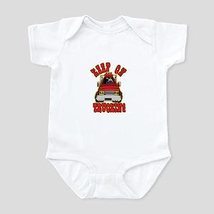 Keep Trucking Infant Bodysuit