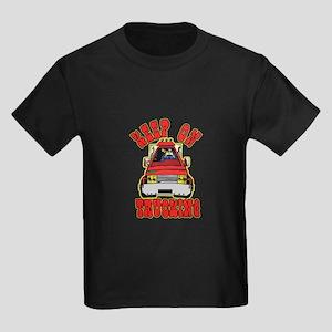Keep Trucking Kids Dark T-Shirt