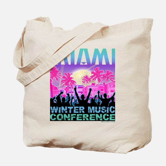 Winter Music Conference Tote Bag