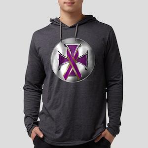 Eating Disorder Iron Cross Long Sleeve T-Shirt
