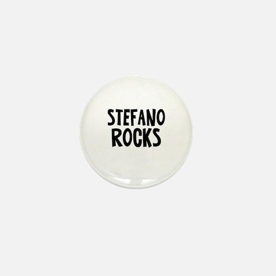 Stefano Rocks Mini Button