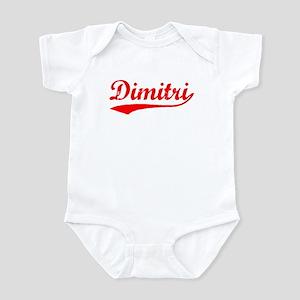 Vintage Dimitri (Red) Infant Bodysuit