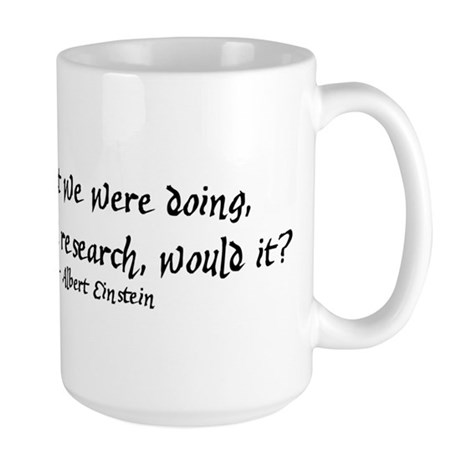 Research Large Mug