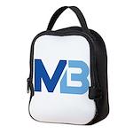 Murieta Bulldogs Logo Neoprene Lunch Bag