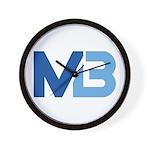 Murieta Bulldogs Logo Wall Clock