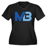 Murieta Bulldogs Logo Plus Size T-Shirt