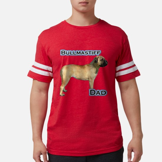 Bullmastiff Dad4 T-Shirt