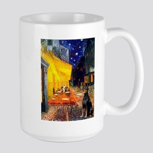 Cafe & Dobie Large Mug
