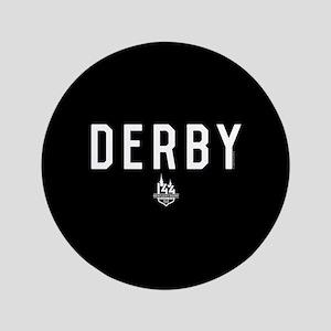 """DERBY 3.5"""" Button"""