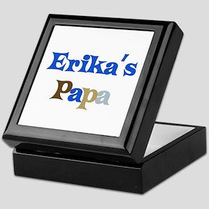 Erika's Papa Keepsake Box
