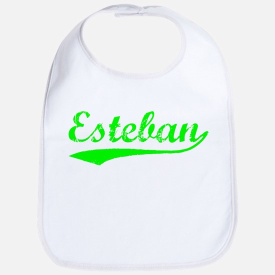Vintage Esteban (Green) Bib