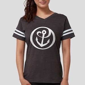 Alpha Sigma Tau Logo Womens Football Shirt