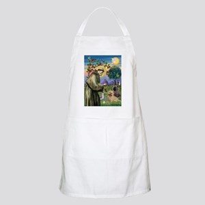 St Francis / Cairn Terrier BBQ Apron
