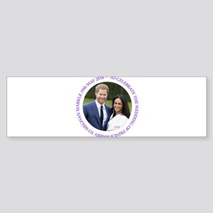 Prince Harry and Meghan Markle Bumper Sticker