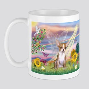 Cloud Angel & Chihuahua Mug