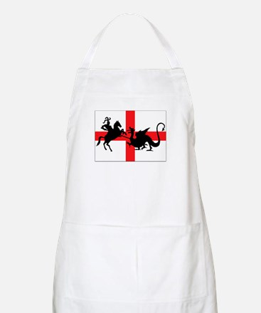 St George's Day BBQ Apron