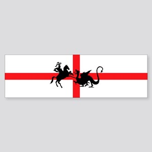 St George's Day Bumper Sticker