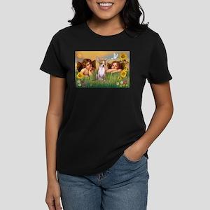 Angels and Chihuahua Women's Dark T-Shirt