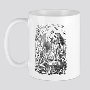 Alice in Wonderland and the Queen of Hearts Mug