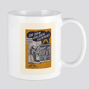 Golden Slippers Sheet M Stainless Steel Trave Mugs