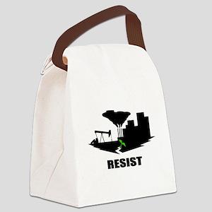 Resist #2 Canvas Lunch Bag