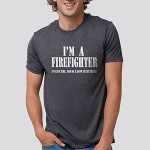 I'm A Firefighter- Dark Women's Dark T-Shirt