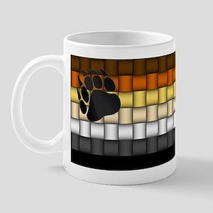 BEAR PRIDE FLAG/BASKETWEAVE Mug