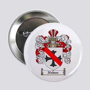 "Nelson Family Crest 2.25"" Button (100 pack)"