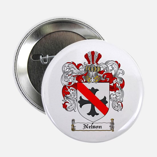 """Nelson Family Crest 2.25"""" Button (100 pack)"""