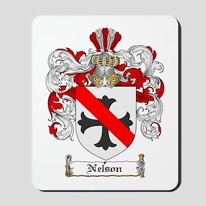 Nelson Family Crest Mousepad