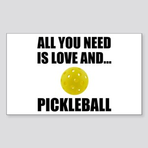 Need Love And Pickleball Sticker