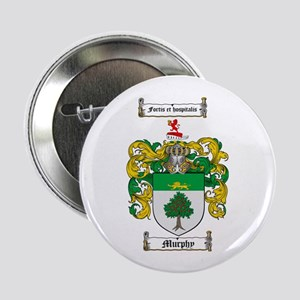 "Murphy Family Crest 2.25"" Button (100 pack)"