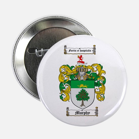 "Murphy Family Crest 2.25"" Button (100 pack)"
