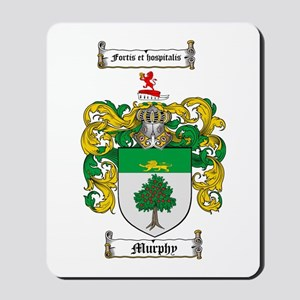 Murphy Family Crest Mousepad