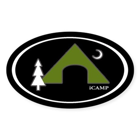 iCAMP Oval Sticker