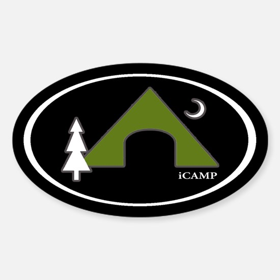 iCAMP Oval Stickers