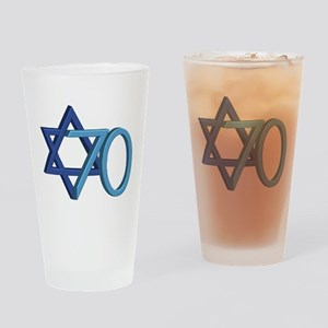Israel Turns 70! Drinking Glass