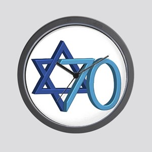 Israel Turns 70! Wall Clock