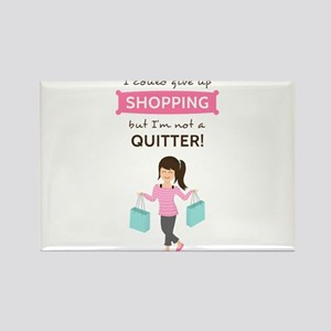 Funny Shopping Quote for Her s Magnets